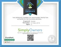 Payment Protextion Certificate